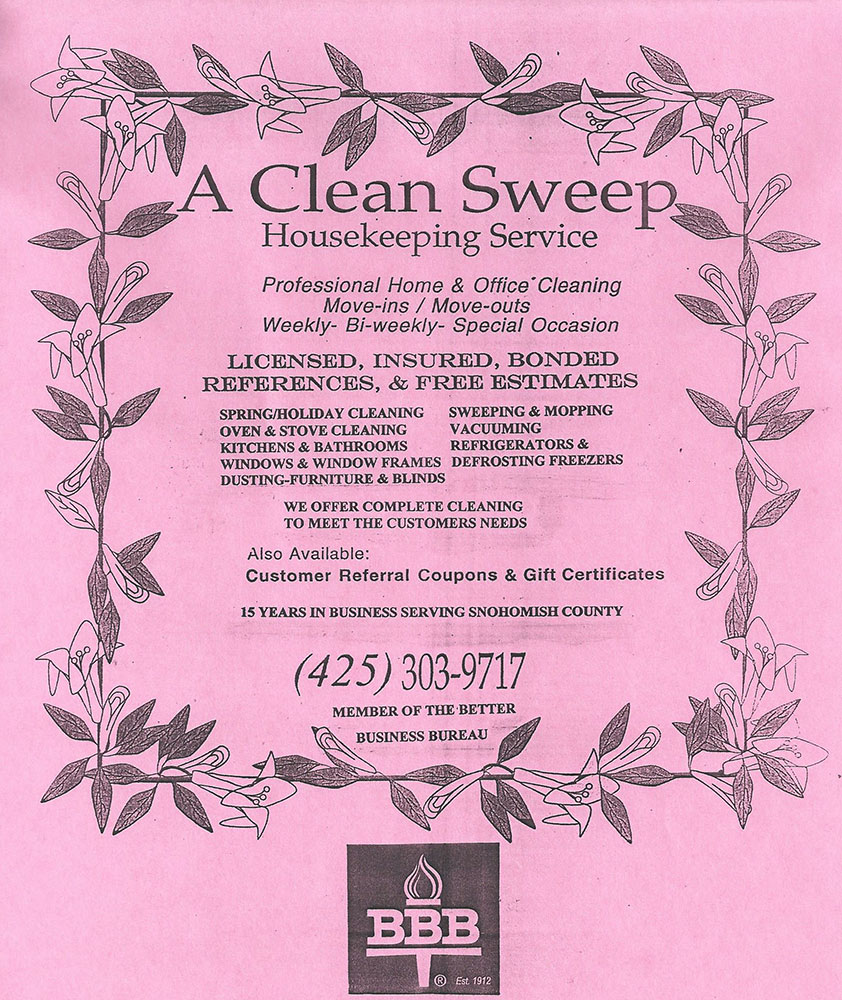 A Clean Sweep Cleaning Service